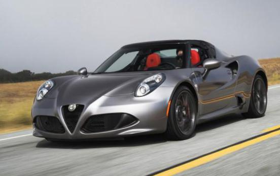 4C Spider Alfa Romeo how mach 2009
