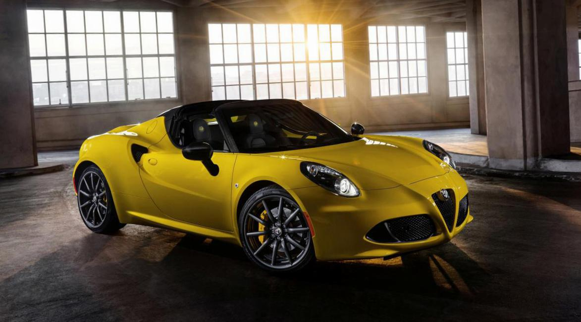 4C Spider Alfa Romeo parts 2013