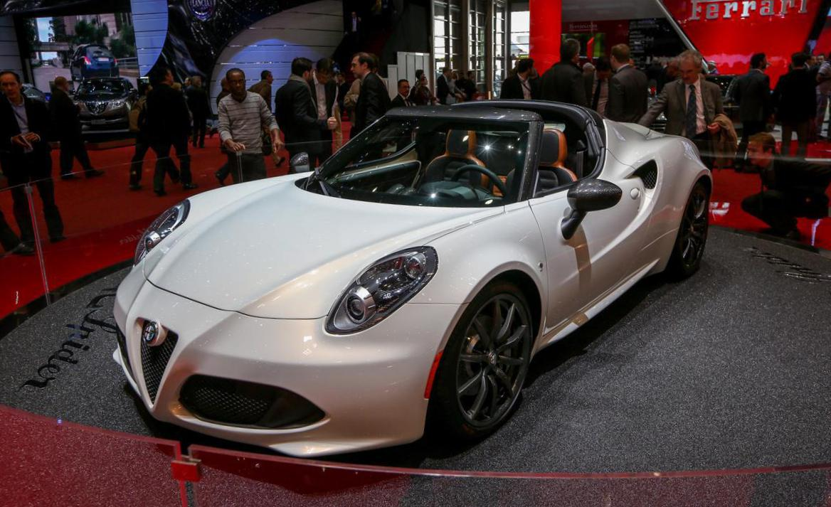 4C Spider Alfa Romeo prices 2011