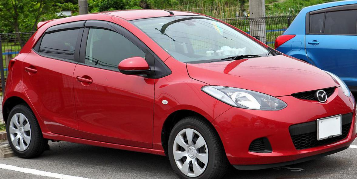 Mazda 2 3 doors Specification pickup