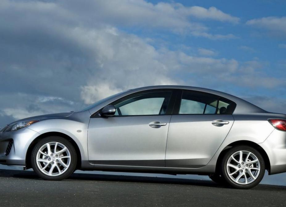 3 Sedan Mazda Characteristics 2008