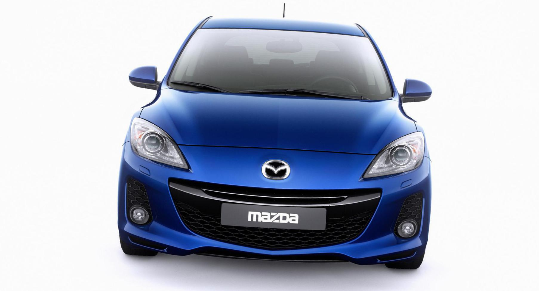 3 Hatchback Mazda approved 2013