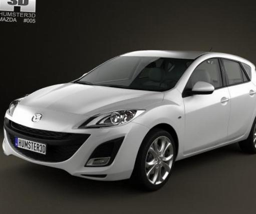 3 Hatchback Mazda configuration 2013
