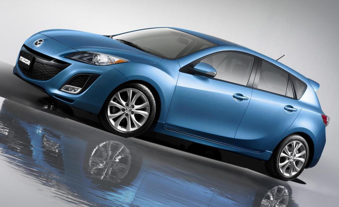Mazda 3 hatchback lease