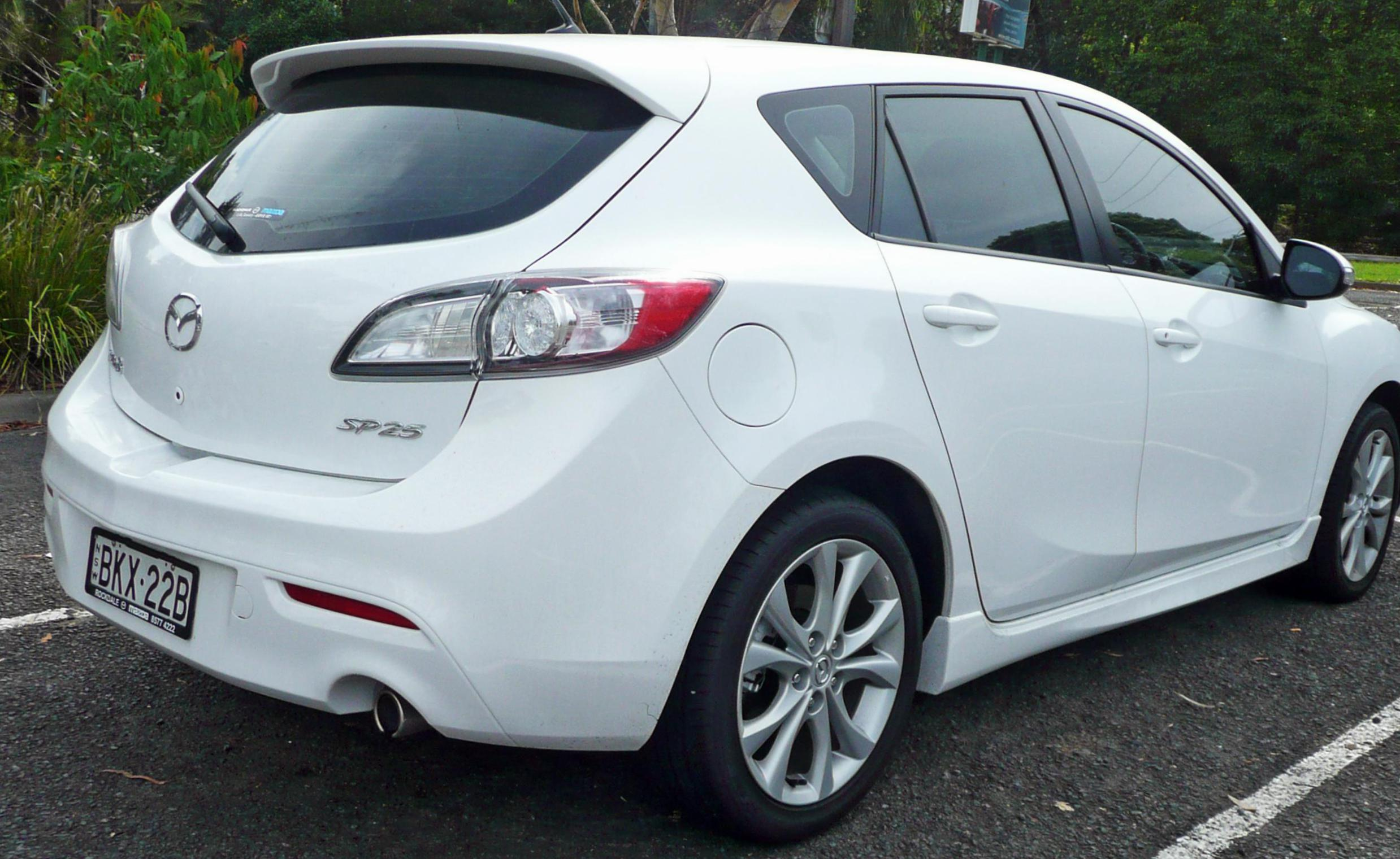 Mazda 3 Hatchback approved sedan