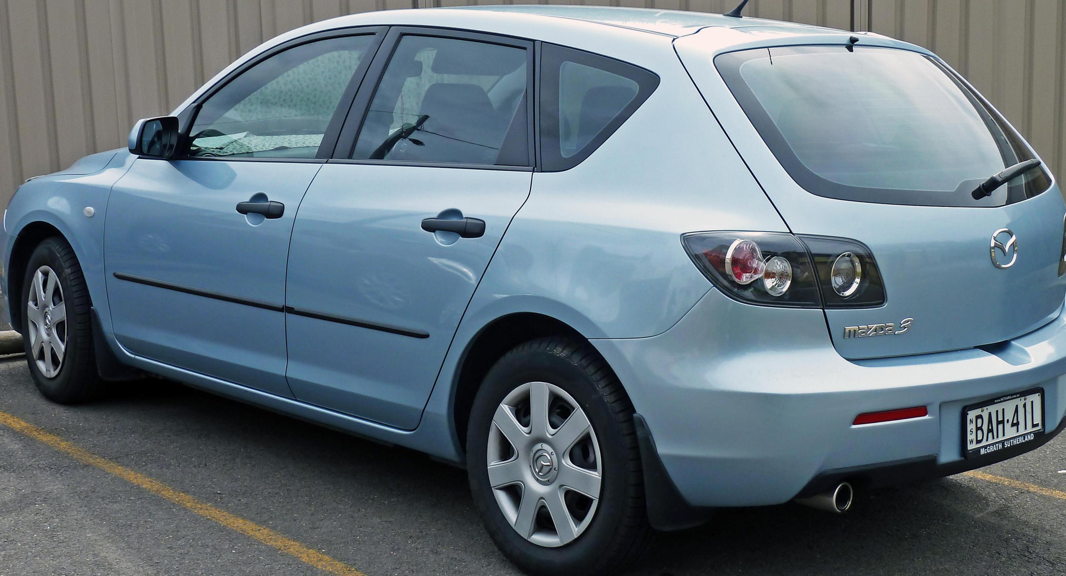 Mazda 3 Hatchback new 2011