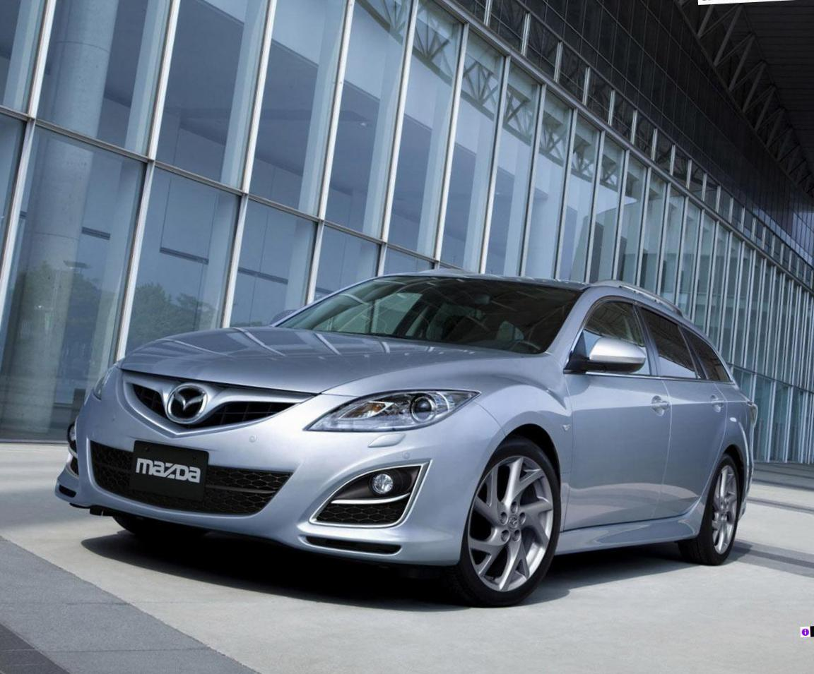 6 Wagon Mazda used 2012