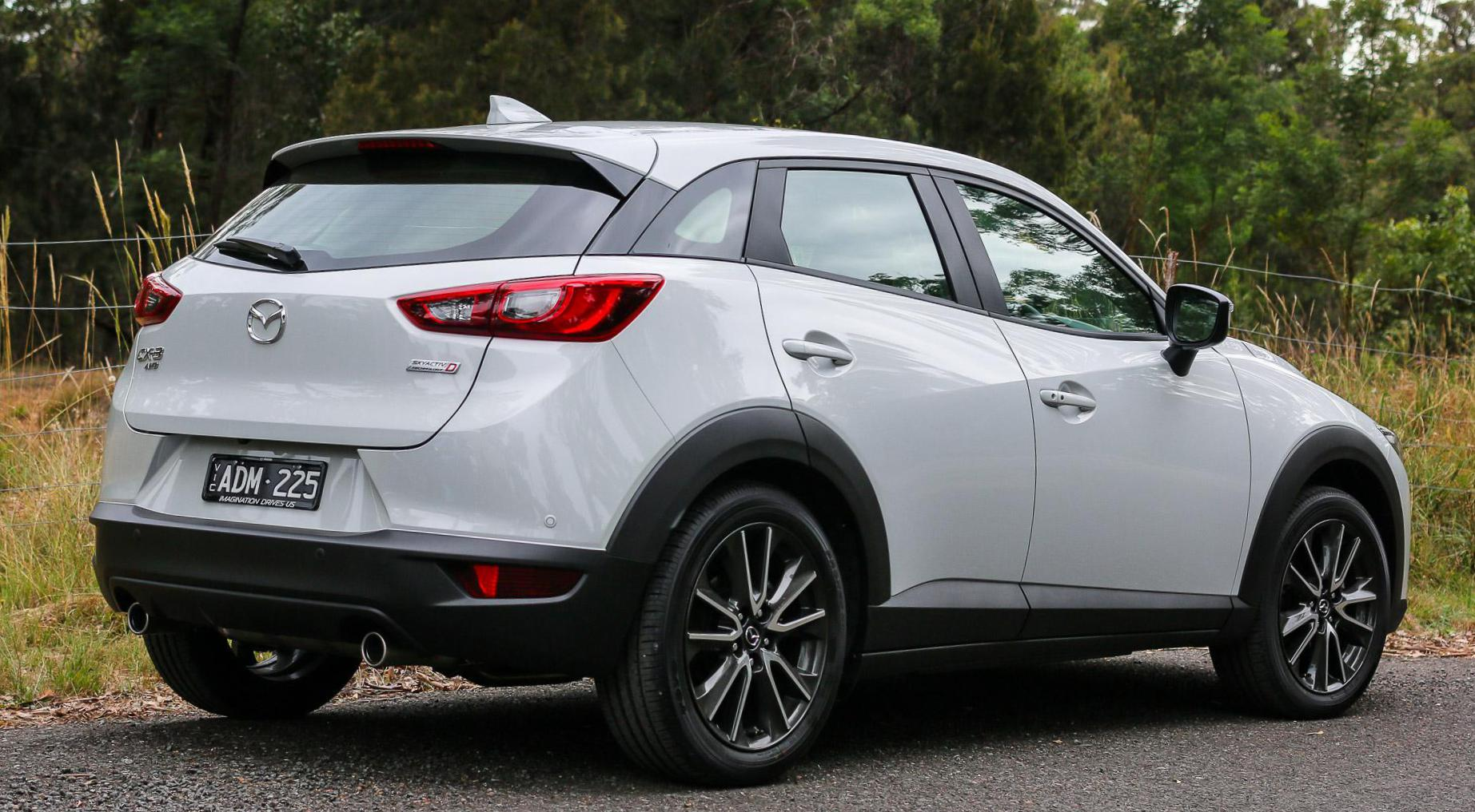 Mazda CX-3 Specifications wagon