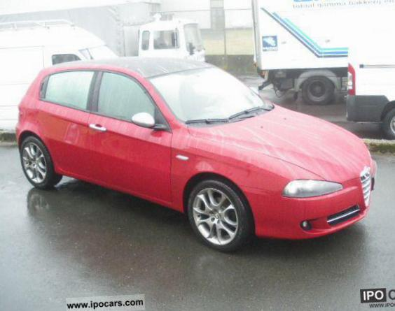 Alfa Romeo 147 5 doors how mach hatchback