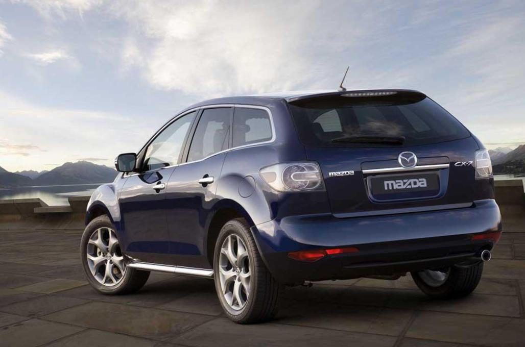 Mazda CX-7 review 2014