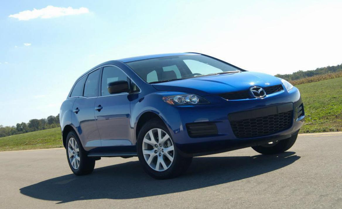 Mazda CX-7 how mach 2015