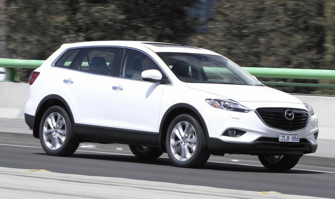 Mazda CX-9 configuration hatchback