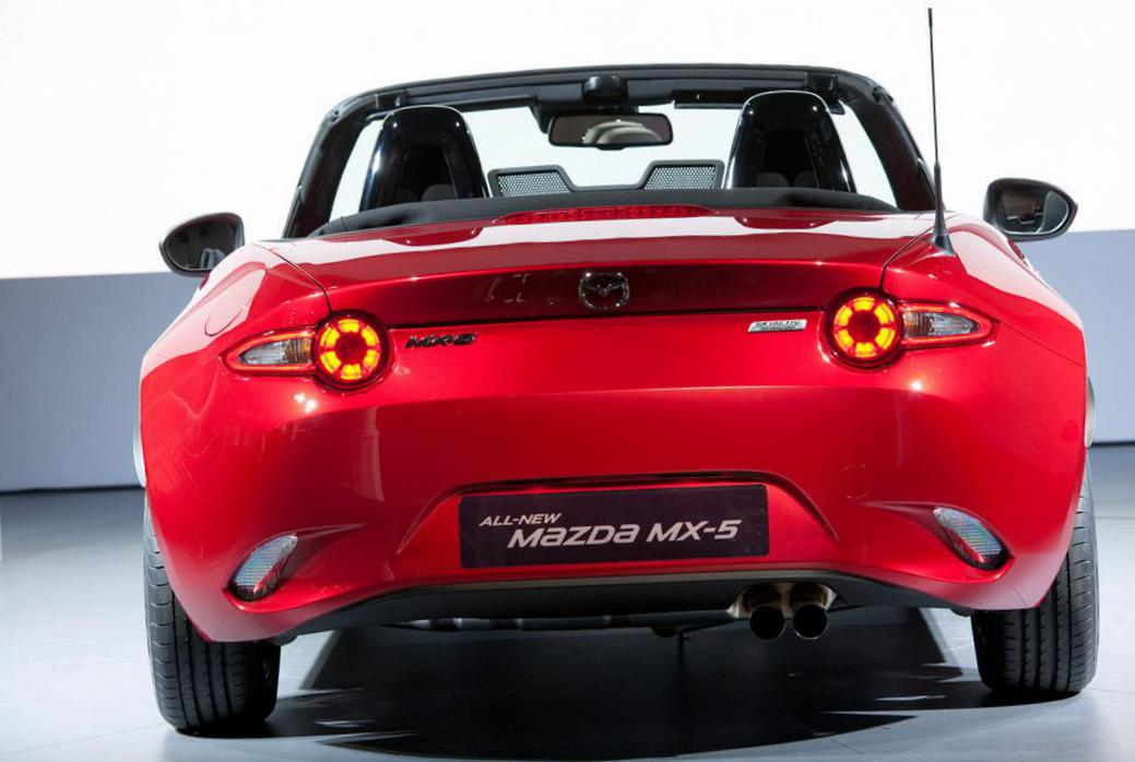 MX-5 Roadster Mazda Specification 2015
