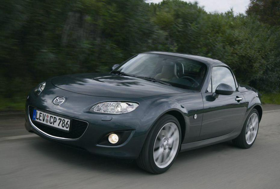 Mazda MX-5 Roadster Coupe lease 2007