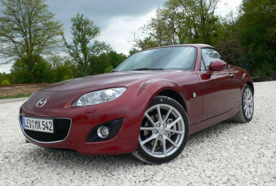 Mazda MX-5 Roadster Coupe Specifications 2012