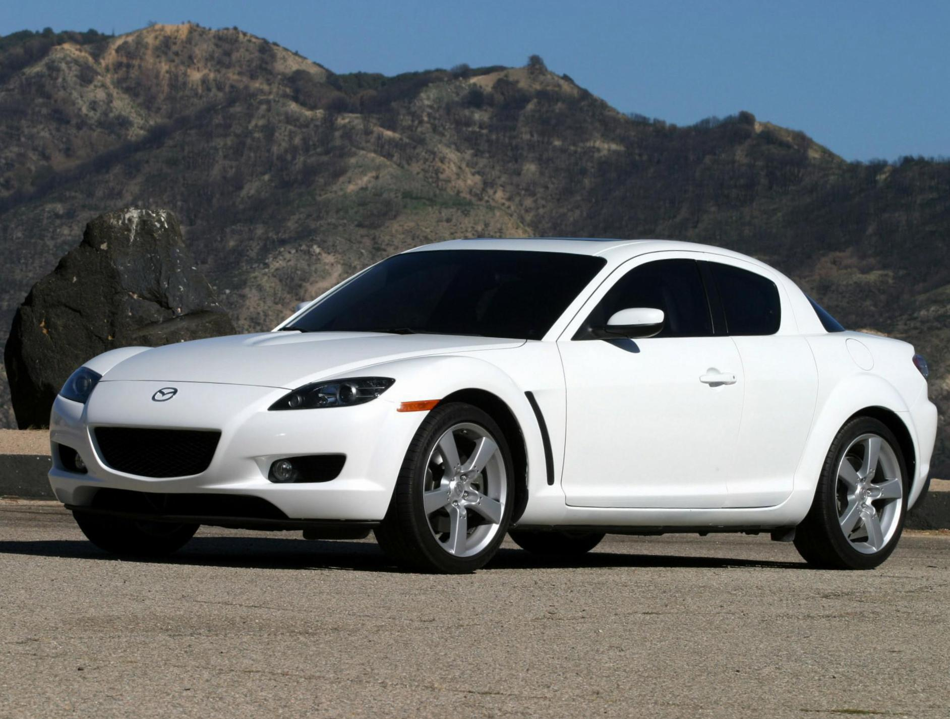 RX-8 Mazda prices sedan