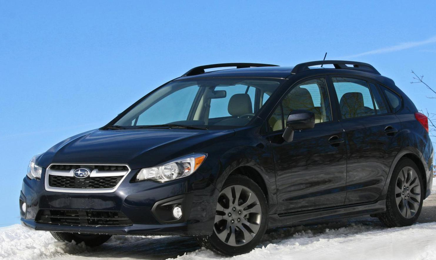 Subaru Impreza Specifications 2011