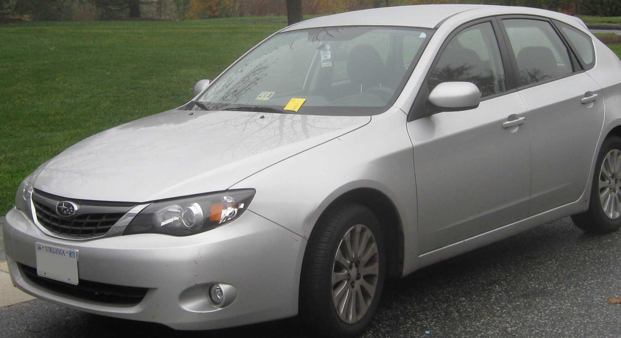 Subaru Impreza Specification 2014