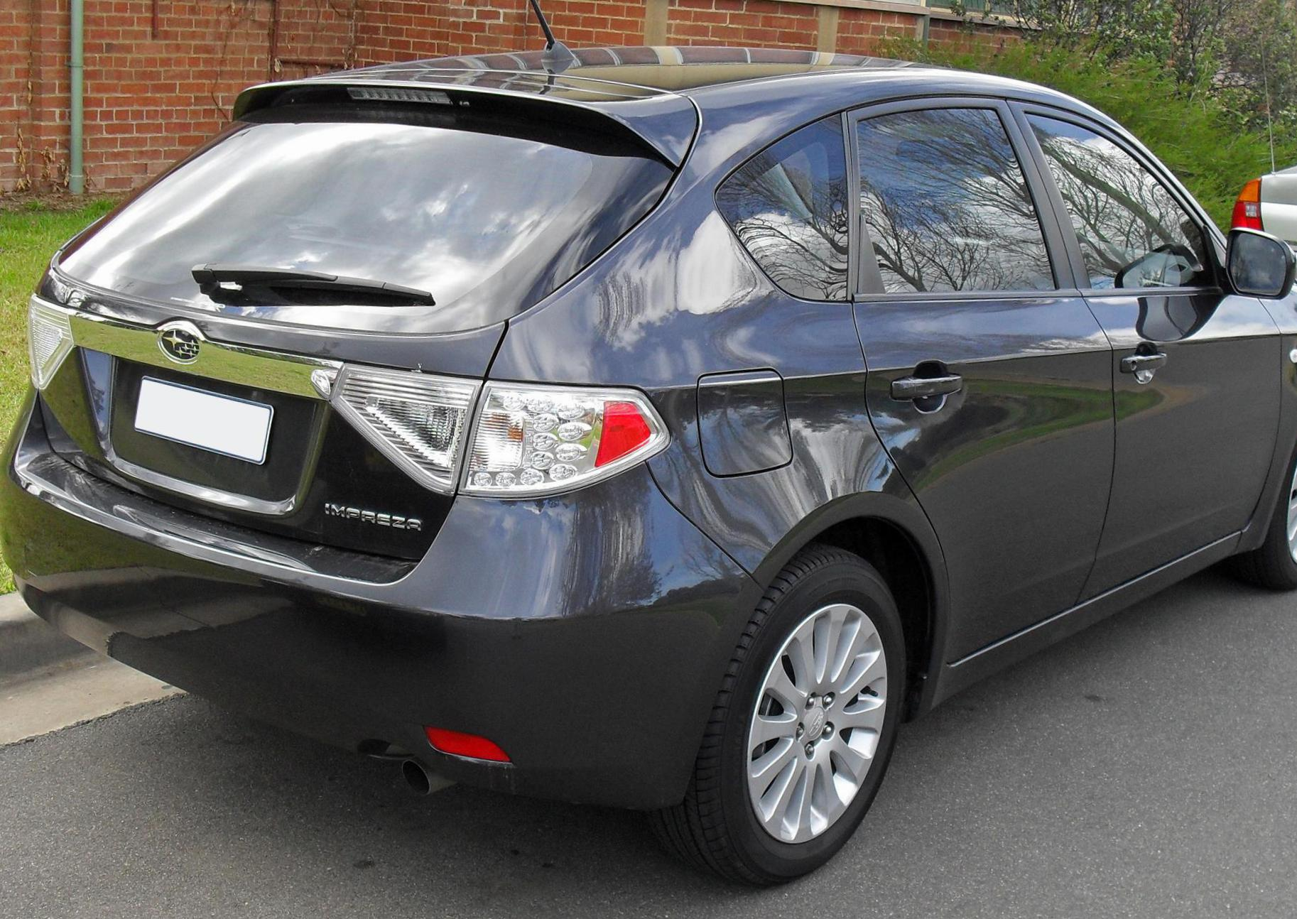 Subaru Impreza Specifications 2009