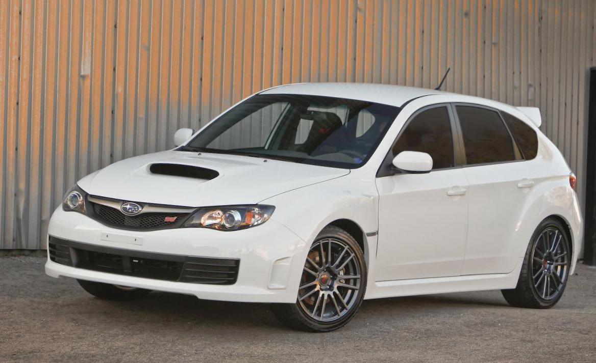 Subaru Impreza WRX Specifications 2008