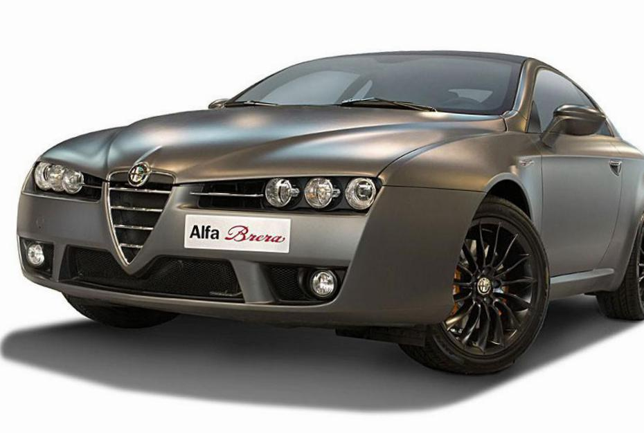 Brera Alfa Romeo model hatchback