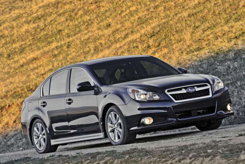 Subaru Legacy new liftback