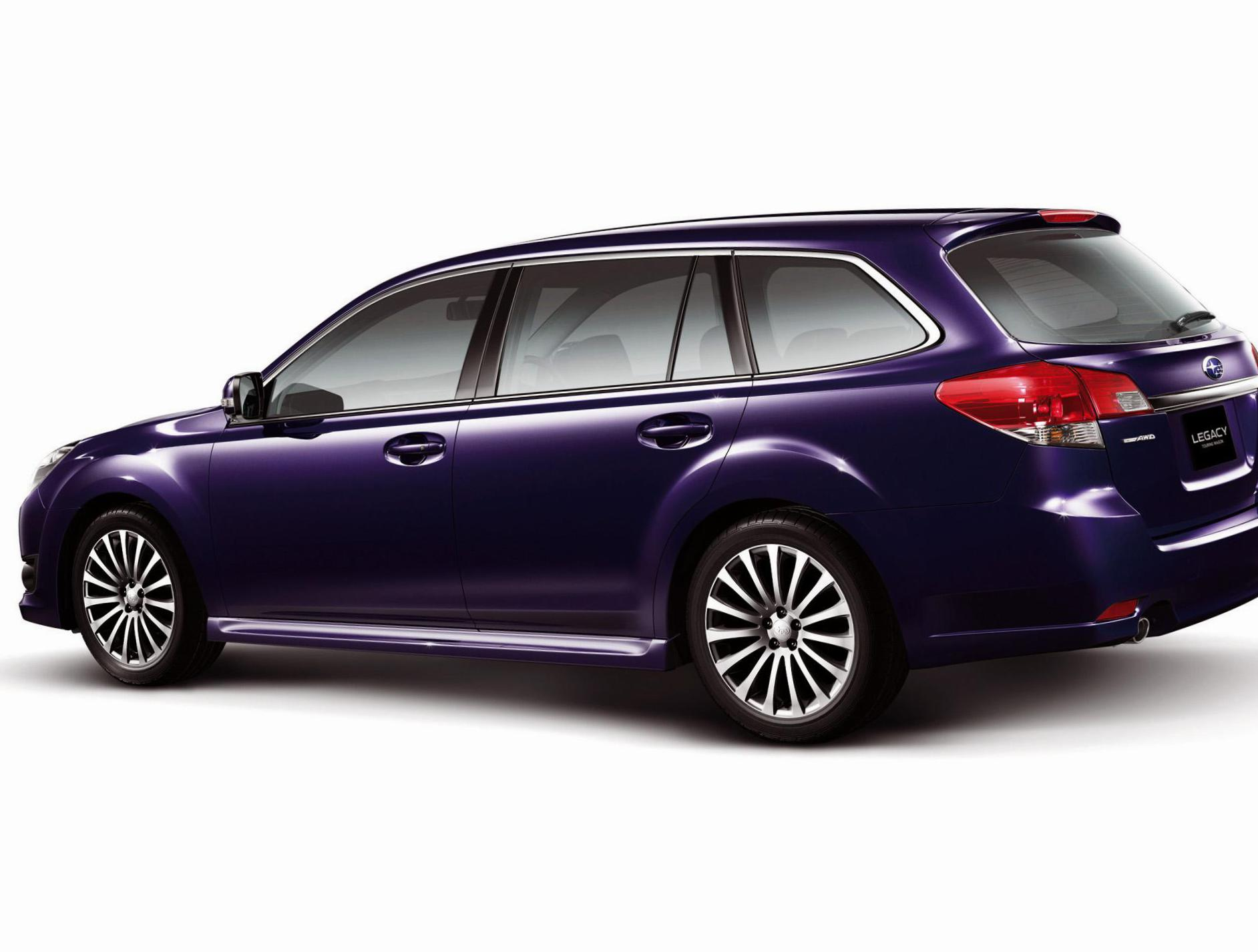 Subaru Legacy Wagon review 2011