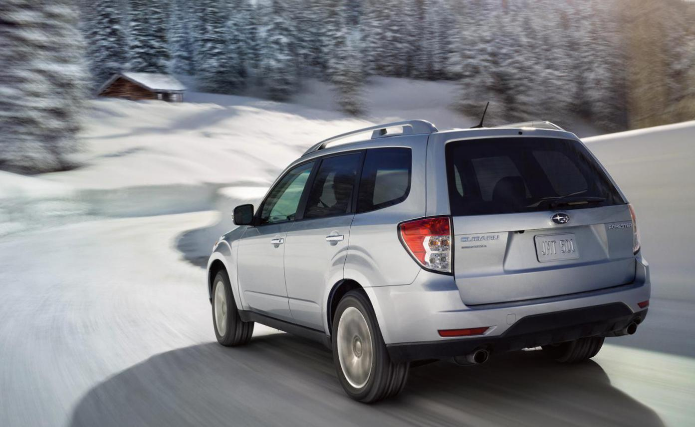 Subaru Forester review 2009
