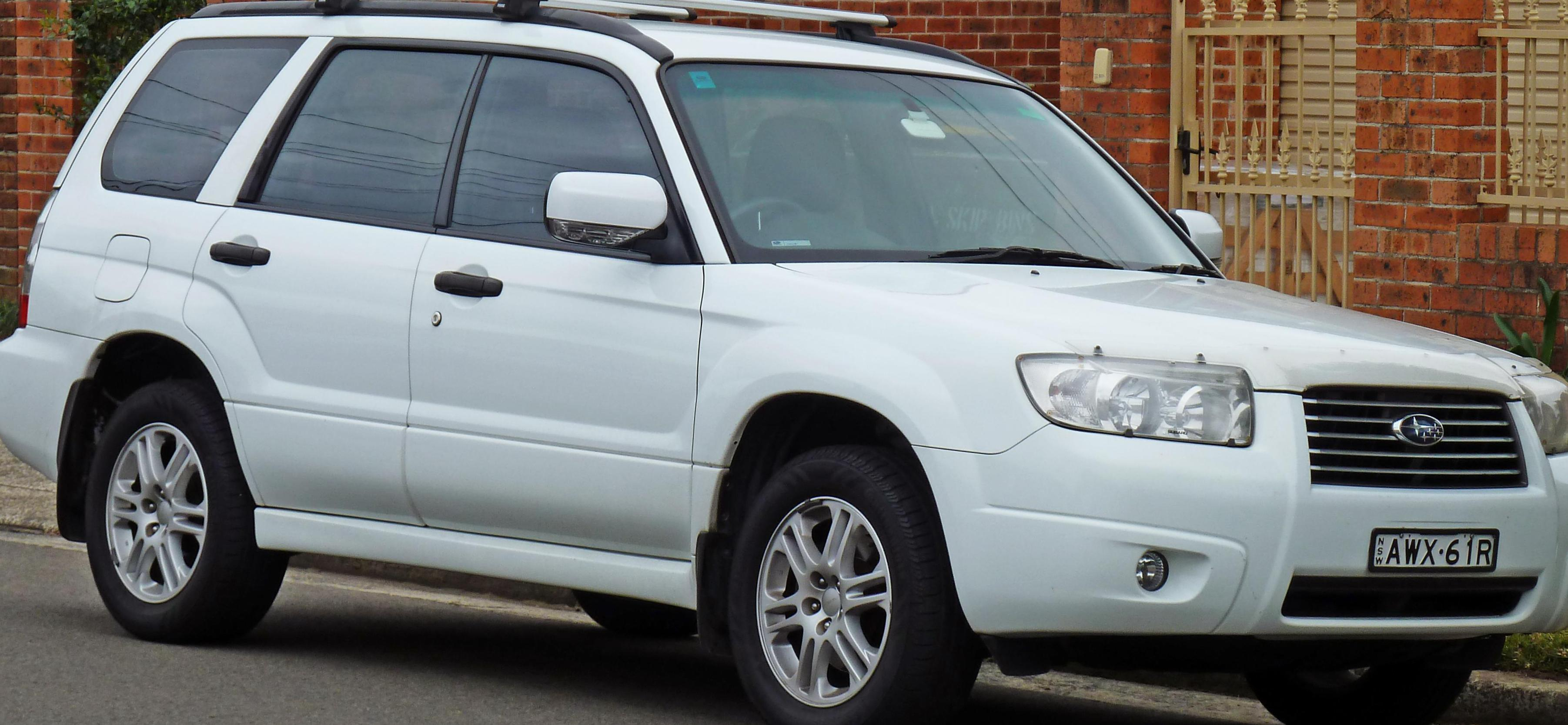 Subaru Forester models 2006