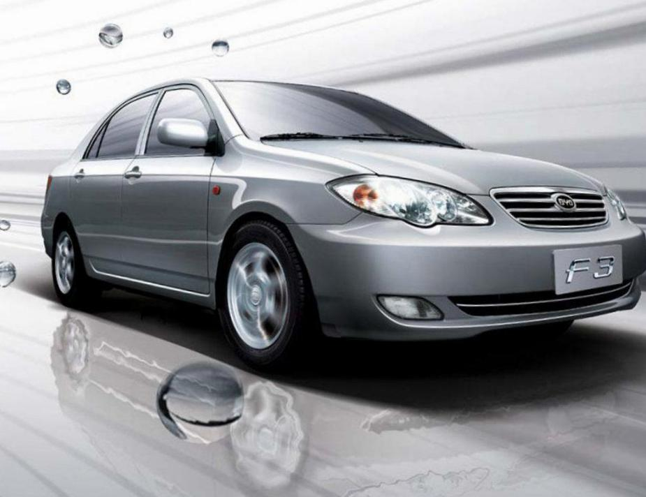 BYD F3 Specification 2008