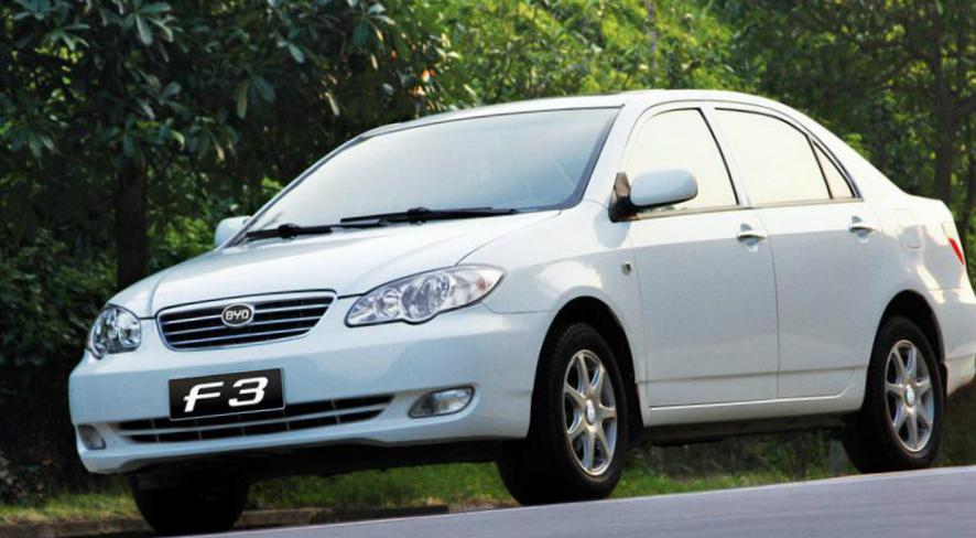 F3 BYD Specifications hatchback