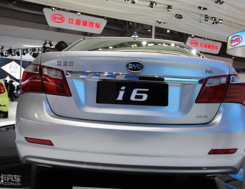BYD G6 Specification 2011
