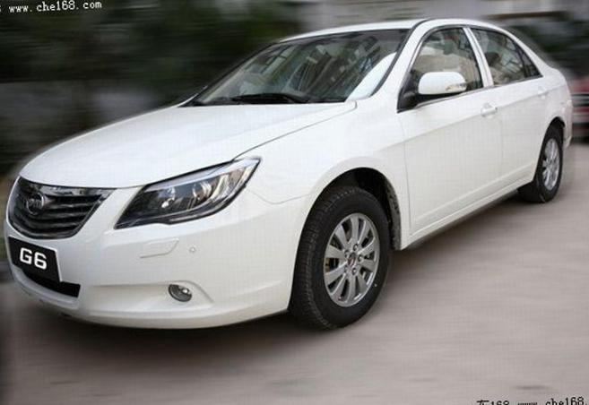 G6 BYD Specifications sedan