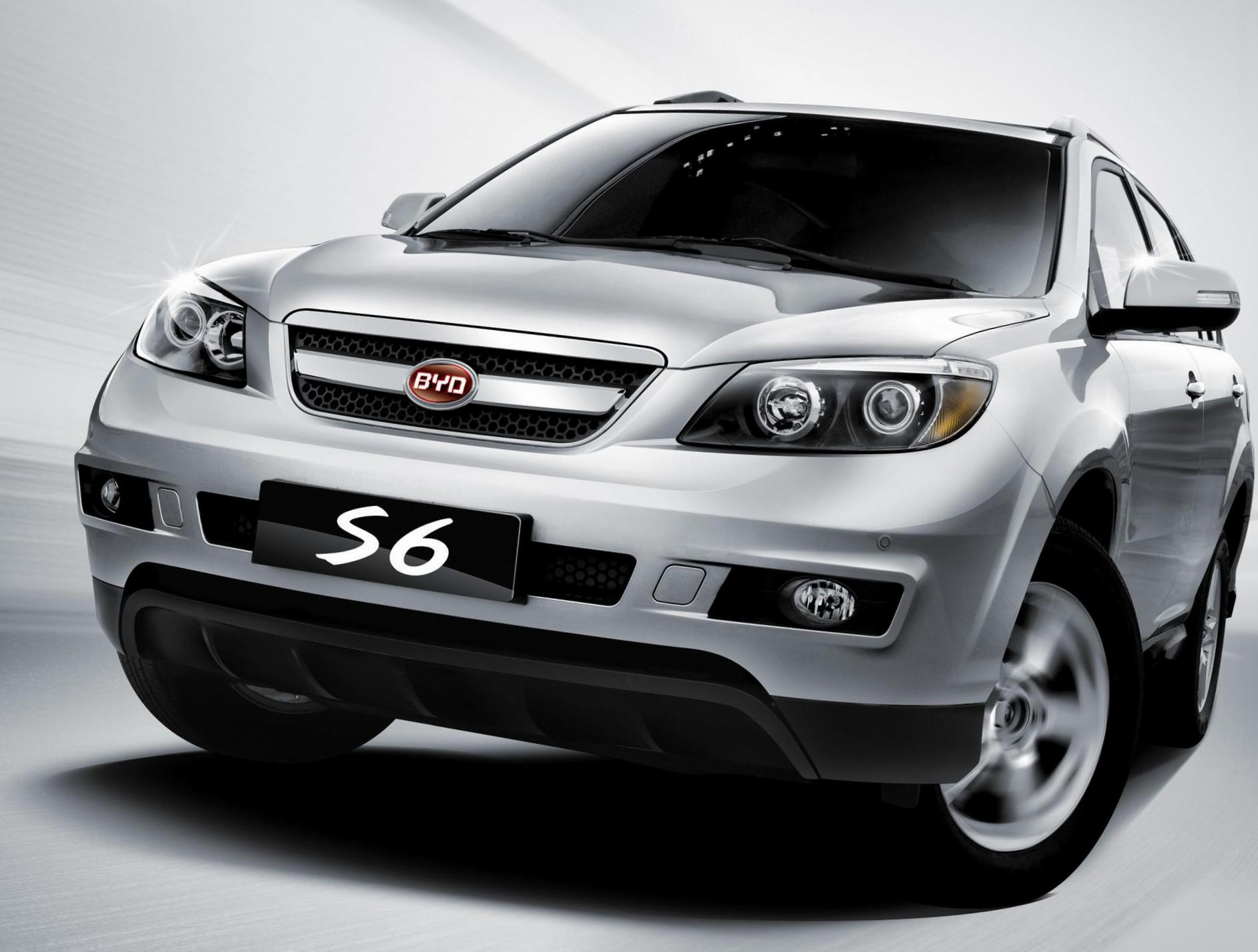 BYD S6 new 2011