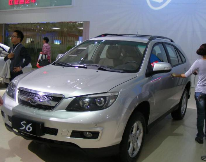 S6 BYD models 2011