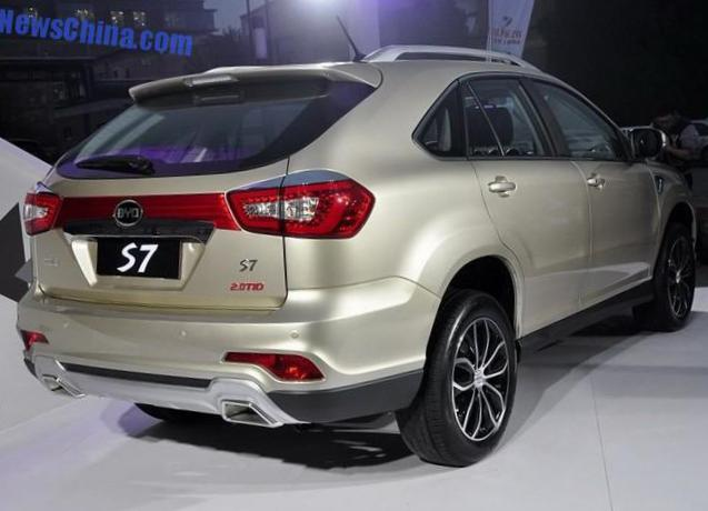 S7 BYD parts suv