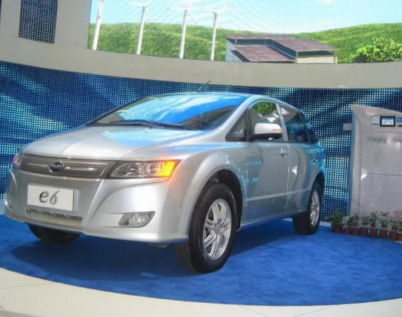 BYD e6 tuning 2011