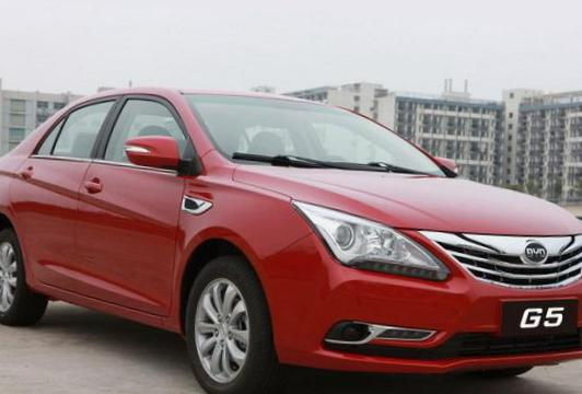 BYD G5 approved sedan