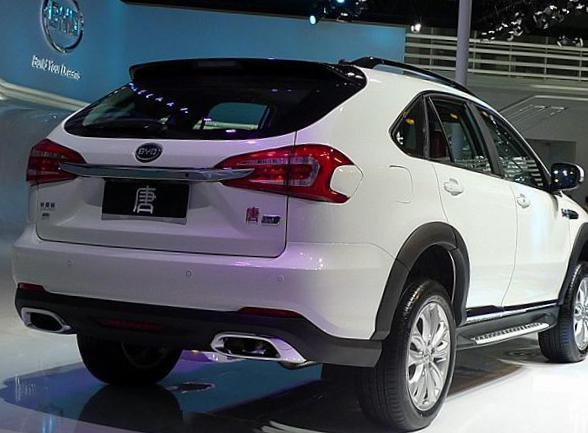 BYD Tang auto 2012
