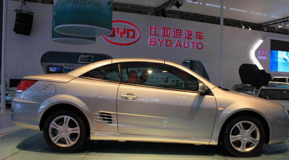 BYD S8 configuration 2012