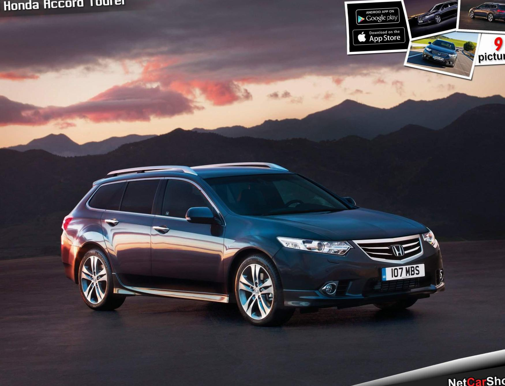 Honda Accord Tourer new sedan