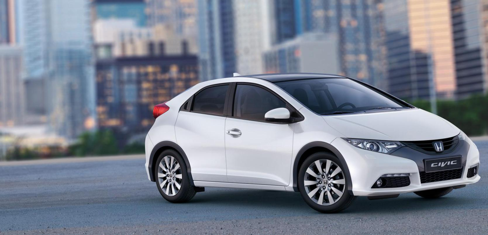 Civic 5D Honda Specifications 2015
