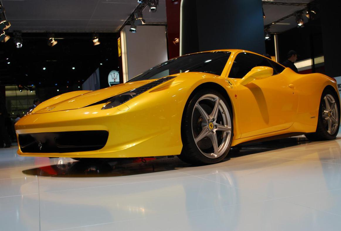 458 Italia Ferrari used coupe