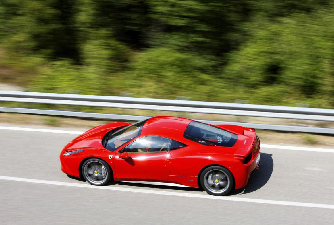 Ferrari 458 Italia sale coupe