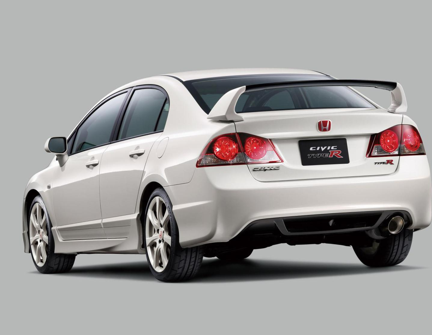 Civic Type R Honda lease 2008