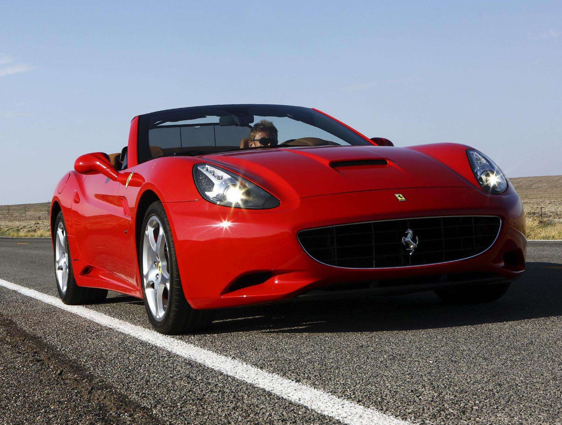 California Ferrari review cabriolet