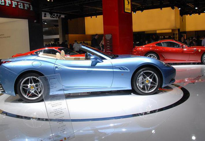 California Ferrari used 2009