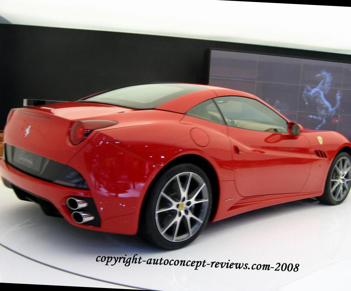 Ferrari California prices 2011