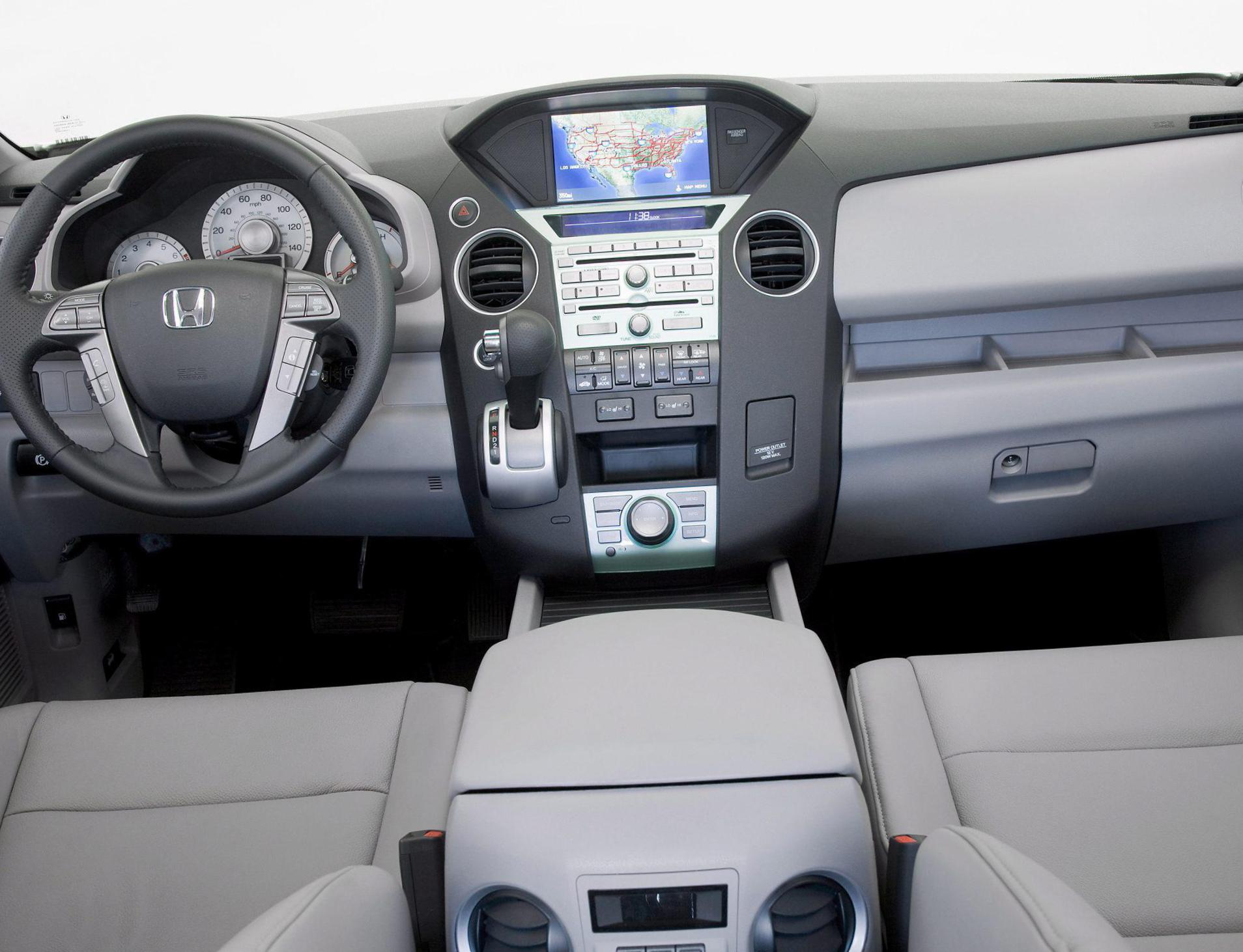 Honda Pilot how mach 2012