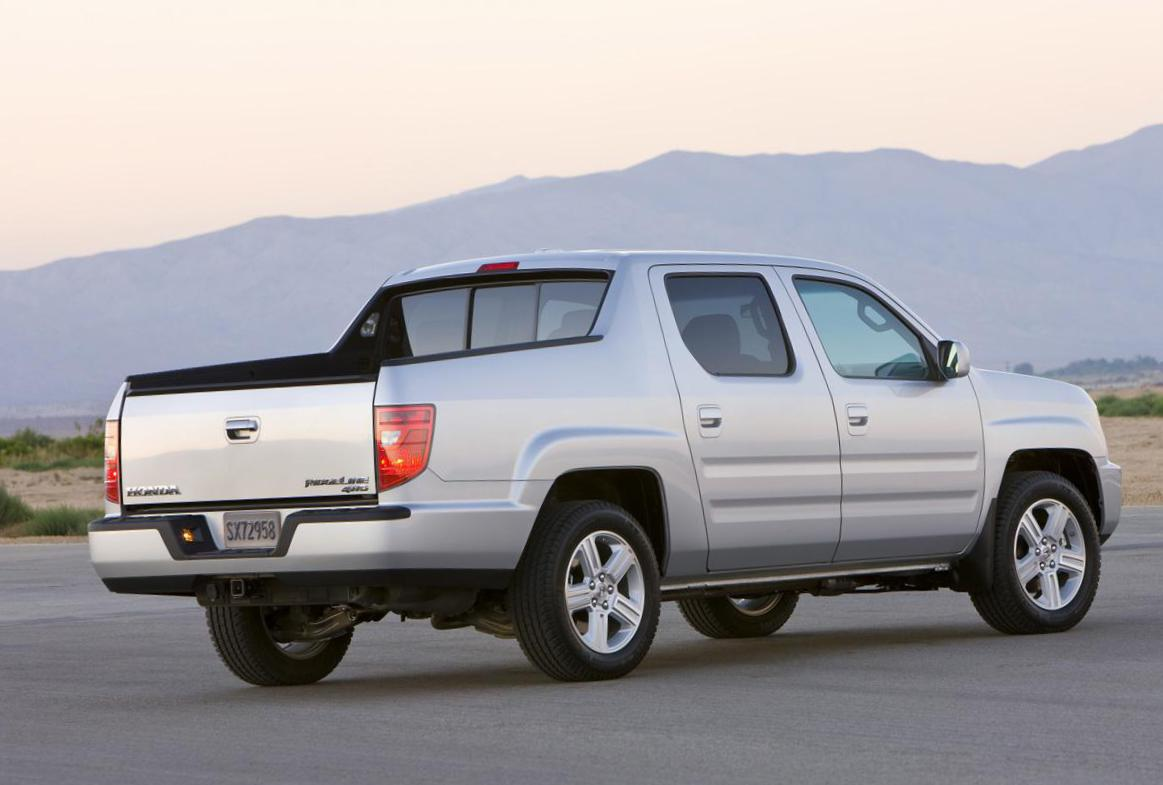 Honda Ridgeline review 2012